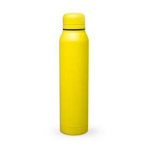 17 Oz. H2go Yellow Water Bottle/Vacuum Insulated Stainless Steel Bottle